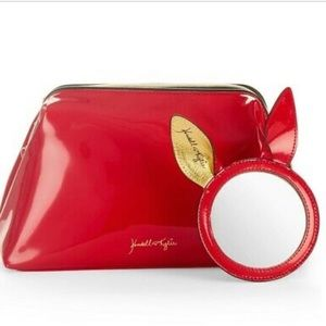 Kendall + Kylie Red Makeup Bag
